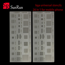 2 pieces of 26 multi-purpose universal network of mobile phone tin-chip Samsung chip million steel net