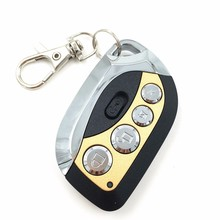 Adjustable Frequency 290-450MHz 4Buttons Wireless Auto Copy Remote Control Duplicator for Garage Doors Key/Auto Gate Doors Key(China)