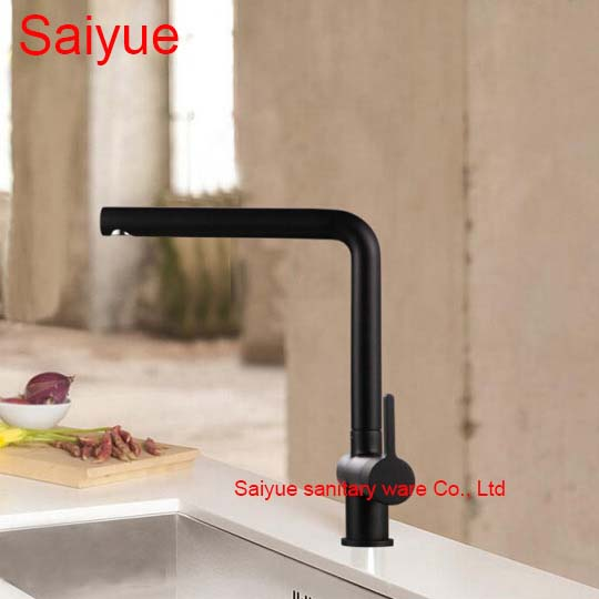Black Pearl Marble Stone Polished Brass Swivel Kitchen Sink Faucet 360 degree rotating Deck Mounted cuisine Mixer Tap torneira<br><br>Aliexpress
