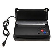 Black / Silver Tattoo Transfer Machine Printer Drawing Thermal Stencil Maker Copier for Tattoo Transfer A4 Paper Copy Supply