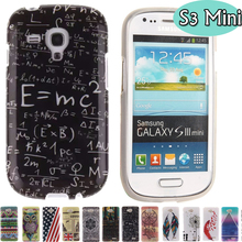 Lovely Cute Cartoon Silicone TPU Soft Back Cover Case sFor Samsung Galaxy S3 Mini i8190 Cases Fundas Coque for Galaxy S3 Mini