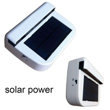 Portable Solar sun Power Air Vehicle Radiator Car Fan vent Auto Ventilator Cooler
