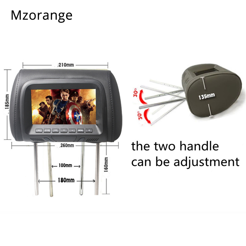 Headrest monitor 3