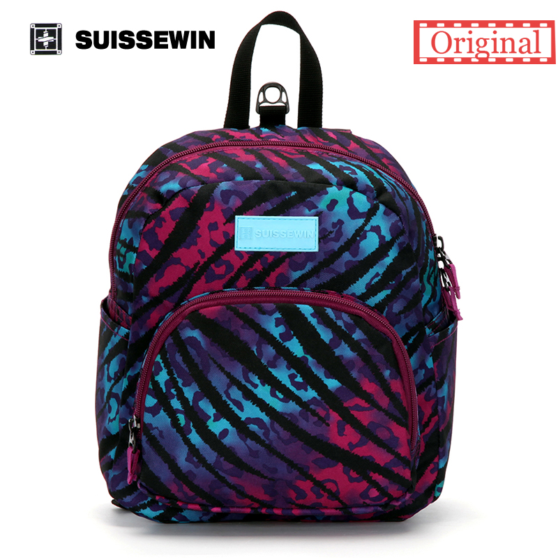 Suissewin New Arrival-Fashionable Children Bag  swissgear wenger Backpack For Children Aged 1-7 With Anti-Lost Band Printing<br><br>Aliexpress
