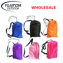 Yuetor Ultralight design lazy bag Beach bed  Lounge Camping of sleeping laybags Outdoor air lounger inflatable laybag air sofa