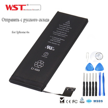 origin WST Brand mobile replacement Battery For Iphone 6S Real Capacity 1715mAh Li-ion Iphone 6s battery With free tool kit