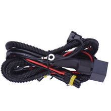 1 pcs 9006/HB4 Relay Harness Wire HID Xenon Light Controller Socket Adapter Plugs Lamp Cable Wiring Conversion Kit
