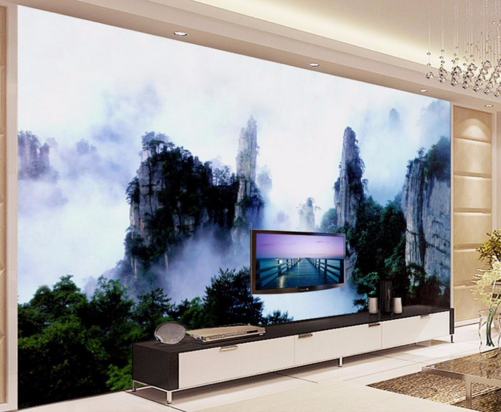3D Wallpaper Living room Custom Clouds Modern 3D Wallpaper Decorative Paintings Chinese style<br>