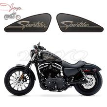 Metal style Sportster Logo Graphics Fuel Tank Decals Stickers For Sportster XL 883 1200 X/V/R/N/L/C Iron Forty Eight Seventy Two