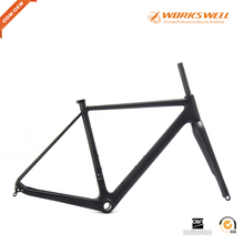 2017 Hight performance carbon fiber bike frame,carbon cyclecross road racing bike frame 142x12 rear hangers