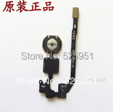 50pcs/lot For iPhone 5S home button flex cable with touch ID sensor assembly ,good quality and brand new, free shipping