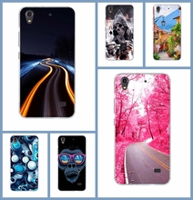 Hot Selling For Huawei Ascend G620s Honor 4 Play Phone Cases Soft Back Cover Colored Paiting Case for Huawei  G620s Phone Bag