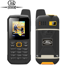 Russian keyboard IP67 waterproof shockproof mobile Phone support Intercom flashlight FM Dual SIM PTT cell phones guophone v1