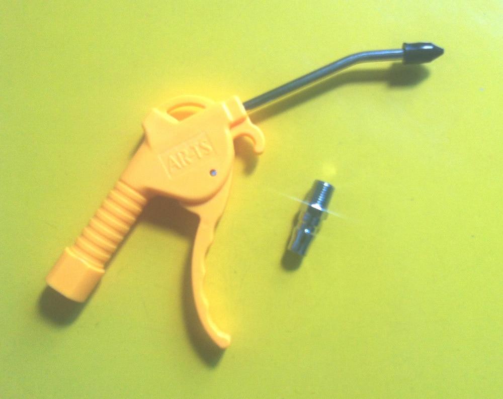 Free Shipping 2PCS/LOT Yellow Handle Female Thread Air Blower Dust Cleaner Gun AR-TS<br><br>Aliexpress
