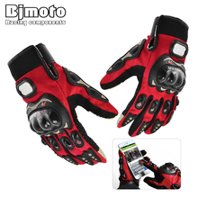 PRO BIKER Cool Motorcycle Gloves Moto Racing Gloves Knight Touch Screen Ride Bike Driving BMX ATV MTB Bicycle Cycling Motorbike