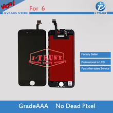 20PCS/LOT Grade A+++ No Dead Pixel LCD For Apple iPhone 6 LCD Screen Display Digitizer Replacement& Free Shipping via DHL(China)