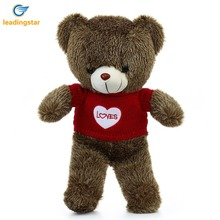 LeadingStar Plush Stuffed Animals Giant Teddy Bear with Red Love Sweater 60CM ZK30(China)