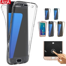 Full Cover 360 Degree For Samsung Galaxy S3 S4 S5 S6 S7 Edge S8 Plus J1 mini J3 J5 J7 A3 A5 2016 2017 Core Grand Prime Case