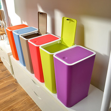 Creative Household Trash Cans Bathroom Living Room Kitchen Waste Bin
