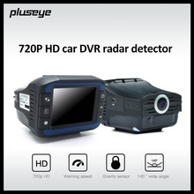 (with Russian & English Voice) 720P Car DVR Radar Detector HD Dash Cam 140 Degree wide angle Car Camcorder Auto Camera Recorder