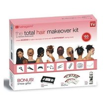 NEW ARRIVALS Hair Makeover Kit Styling Accessories Headwear Total Makeup Kit For Beauty Tools