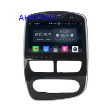 Car PC Multimedia Player Stereo Radio Audio Android 6.0.1 Navigation Full Touch For Renault Clio IV Manual A/C 2015 2016 2017(China)