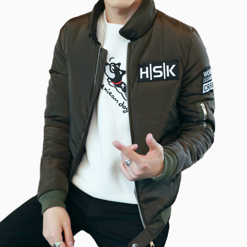 Winter Men Thick Warm Parka Solid Thicker Jacket For Male Casual Slim Fit Outwear Fashion Mens Jackets And CoatsОдежда и ак�е��уары<br><br><br>Aliexpress
