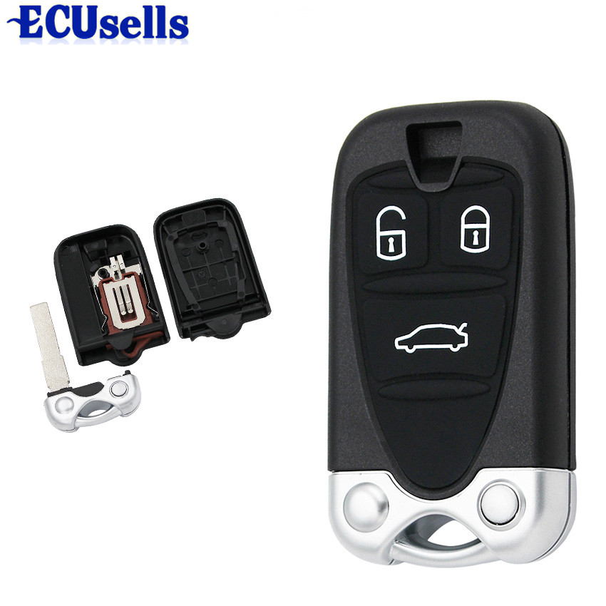 3 Button Remote Control Housing Car Key Shell Case Fob for ALFA ROMEO 159 Brera 156 Spider(China)