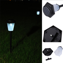 3pcs/set Solar Power LED Bright Efficient Garden Yard Outdoor Landscape Path Patio Lawn Bulbs Decor Light With Battery