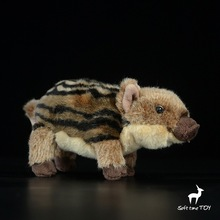 Cute Little Wild Boar Doll  Baby Toy  Gift  Plush Pig Toys  Holiday Gifts