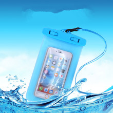 Universal Sealed Mobile Phone Waterproof Bag Dustproof Touch Screen Hang Neck Diving Swimming Hot Spring Protection Storage Bag