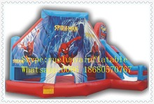 Factory direct Inflatable slide,Inflatable castle,Spiderman Castle Slide KYB-29(China)