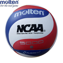Molten NCAA5000 Volleyball Balls Official Weight Size Soft Touch Outdoor Training Competition Handball Voleibol(China)