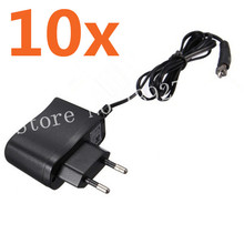 10Pcs Charger AC 100-240v for Rechargeable Glow Plug Igniter Ignition SC1800mAh For RC Car Baja Car Buggy Truck Airplane(China)