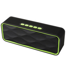 Wireless Bluetooth Speaker Outdoor Portable Stereo Speaker with HD Audio Enhanced Bass Built-In Dual Driver Speakerphone