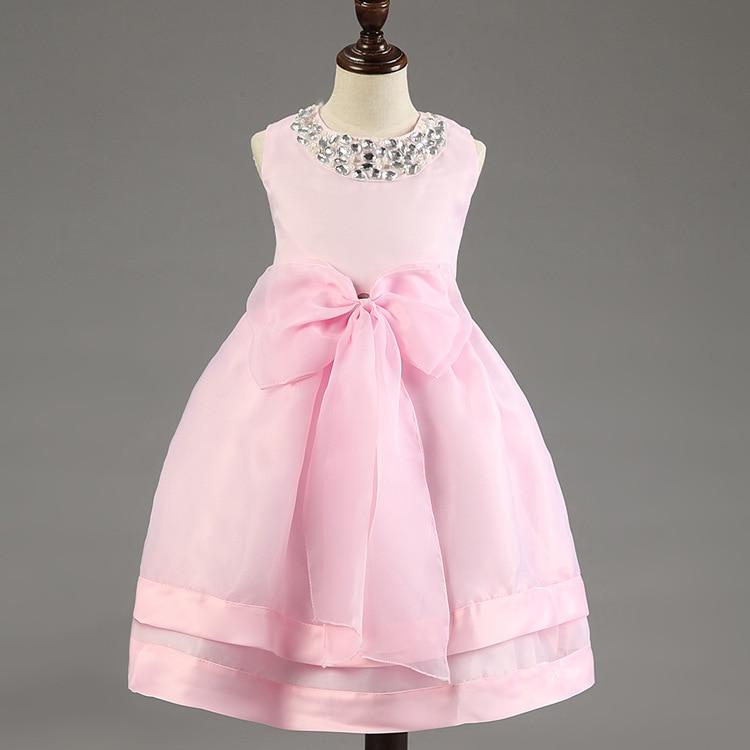 The girl wedding dress summer for size 2 3 4 5 6 7 8 9 10 years child performance dress tutu princess dress<br><br>Aliexpress