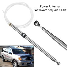 Power Antenna Aerial AM FM Radio Replacement Mast Cable For Toyota /Sequoia 2001-2007 Tooth Core(China)