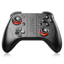 MOCUTE 053 Wireless Bluetooth Gamepad PC Game Controller for Smartphone TV Box With Built-in Foldable Holder Joystick(China)