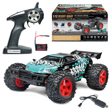 Newest Boy adult toy BG1518 1:12 Scale 40-50KM/H Four-Wheel Drive WATERPROOF RC Racing Truggy High Speed Rc drift Car vs 94123(China)
