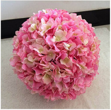 NEW Inner dia.18cm Outside dia.30cm Watercress hydrangea wedding kissing flower ball bride bouquet decoraion 10pcs/lot TONGFENG