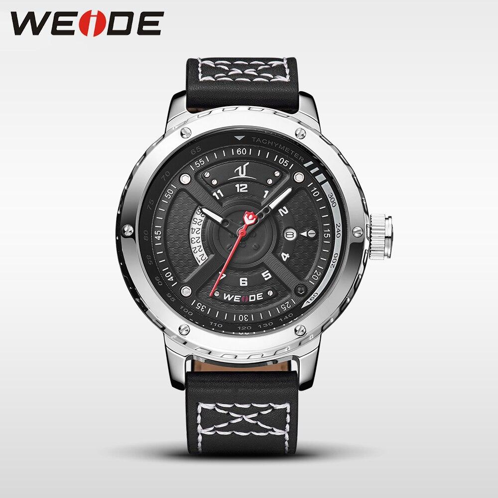 WEIDE men watches luxury brands watch electronics quartz men sports leather watches waterproof Schocker clock fashion &amp; casual<br>