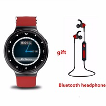 sale fashion IQI I4 Smart watch phone Android 5.1 MTK6580 8GB ROM support 3G WiFi GPS Heart Rate Clock for iPhone PK kw88 S99A(China)