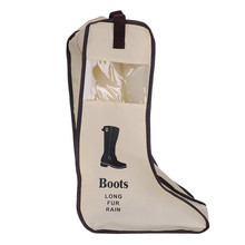 Long Dustproof Boots Shoes Storage Pouch Organizer Protector Bag Hanging Closet Cabin Shoe Cover Home Storage Supply