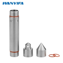 Wanyifa Titanium Ti EDC Tool Waterproof Tablet Pill Box Key Ring Medicine Capsule(China)