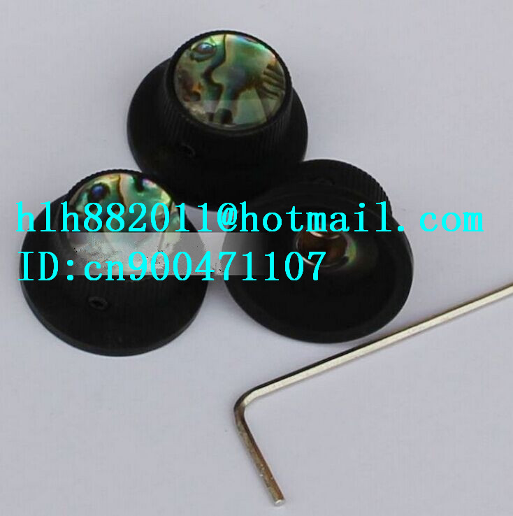 free shipping new electric guitar and bass 3 tone and  volume metal electronic Control Knobs cap  NP021  DM-8075<br>