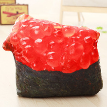 How beautiful the new sushi chop snacks Hui manufacturers Egg Tart pillow plush toys to send his girlfriend logo