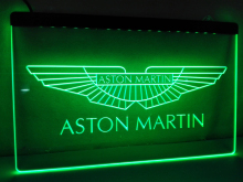 LG147- Aston martin LED Neon Light Sign hang sign home decor  crafts
