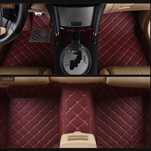 special RHD right hand drive car floor mats for Sienna Hong Kong version of Senna five seats full surrounded carpets(China)