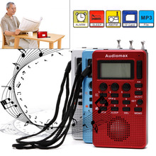 Hottest Portable Digital LCD Receiver AM FM Band Radio for MP3 Music Player