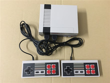 Mini Retro TV Handheld Game Console Video Game Console mini Games player Built-in 600 Different Games PAL&NTSC dual gamepad(China)